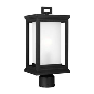 Feiss Roscoe Black Post Mount Light.