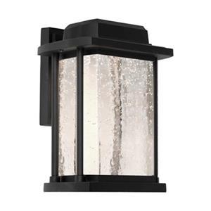 Artcraft Lighting Addison Medium Black LED Outdoor Wall Light