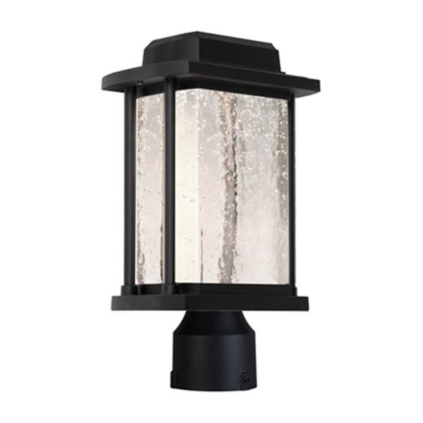 Artcraft Lighting Addison LED Black Outdoor Post Light