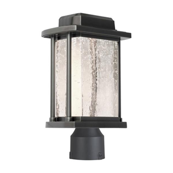 Artcraft Lighting Addison LED Slate Outdoor Post Light