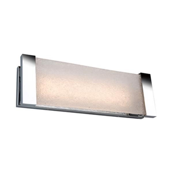 Artcraft Lighting Barrett 18-in Chrome LED Wall Light