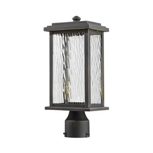 Artcraft Lighting Sussex Outdoor LED Oil Rubbed Bronze Post Mount Light