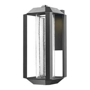 Artcraft Lighting Wexford Large Black LED Outdoor Wall Light