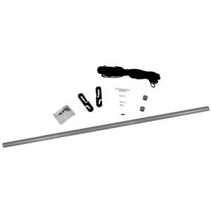 ShelterLogic Pull-Eaze(TM) Roll-Up Door Kit - Silver