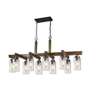 Artcraft Lighting Home Glow 10-Light Kitchen Island Light