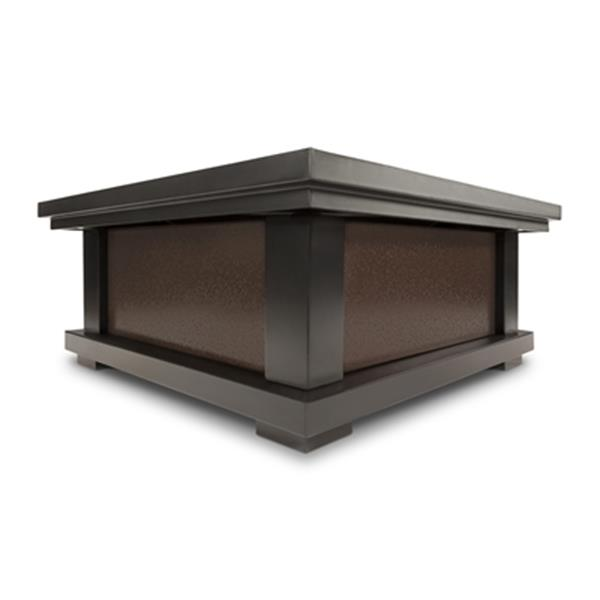 Real Flame 19.12-in x 33.80-in Fire Pit