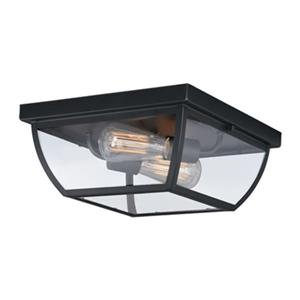 Cascadia Granville Bronze Outdoor Flush Mount Ceiling Light