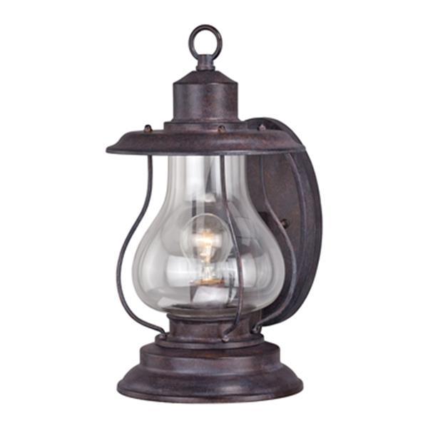 Cascadia Dockside 1-Light Bronze Coastal Outdoor Wall Lantern