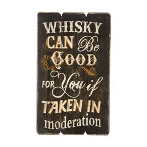 RAM Game Room Products Whisky Can Be Good For You Bar Sign