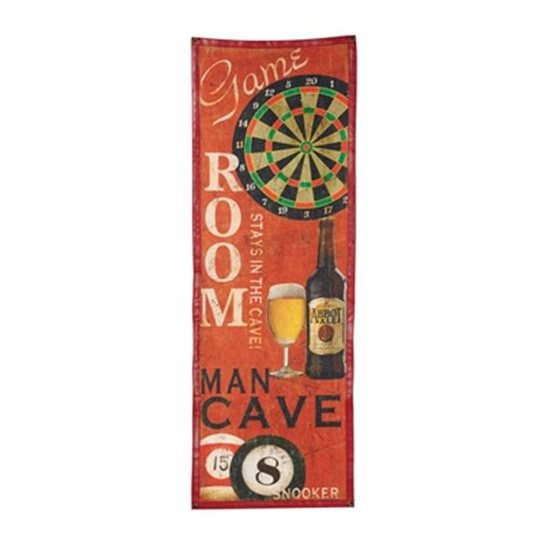 RAM Game Room Canvas Sign