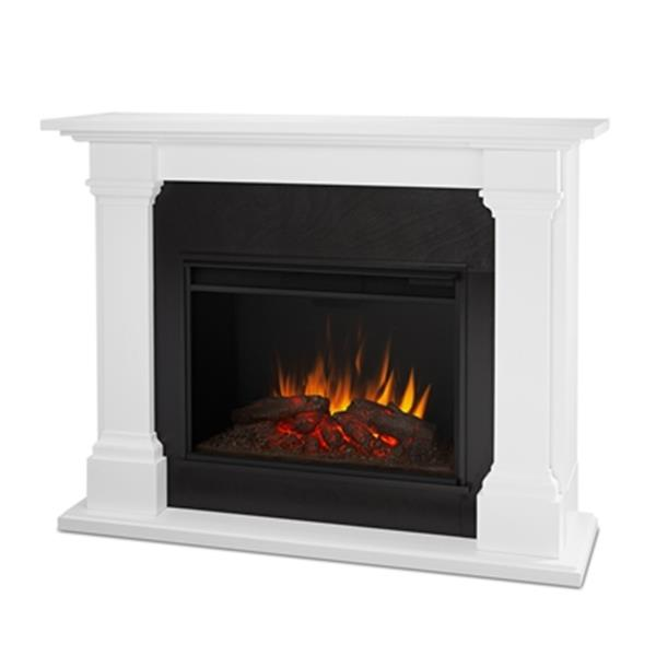 Real Flame Callaway Grand Electric Fireplace,8011E-W