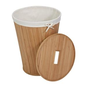 Honey Can Do Nested Bamboo Hamper with Lid