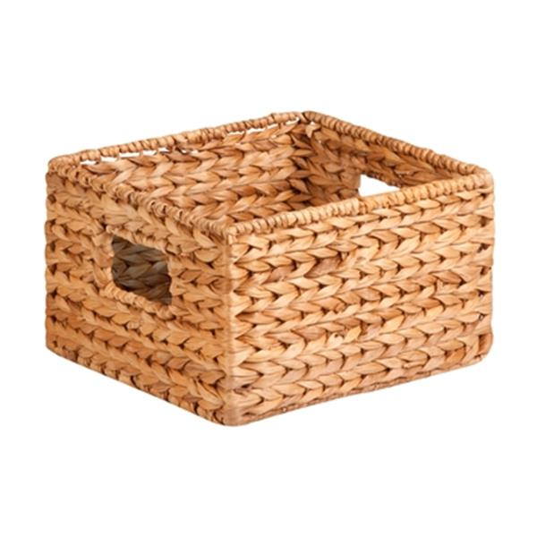 Honey Can Do Wicker Nesting Water Hyacinth Basket Set