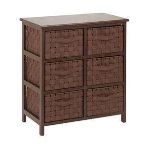 Honey Can Do TBL-0375 6-Drawer Storage Chest,TBL-03758