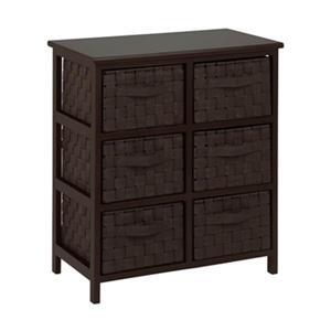 Honey Can Do TBL-0375 6-Drawer Storage Chest,TBL-03759