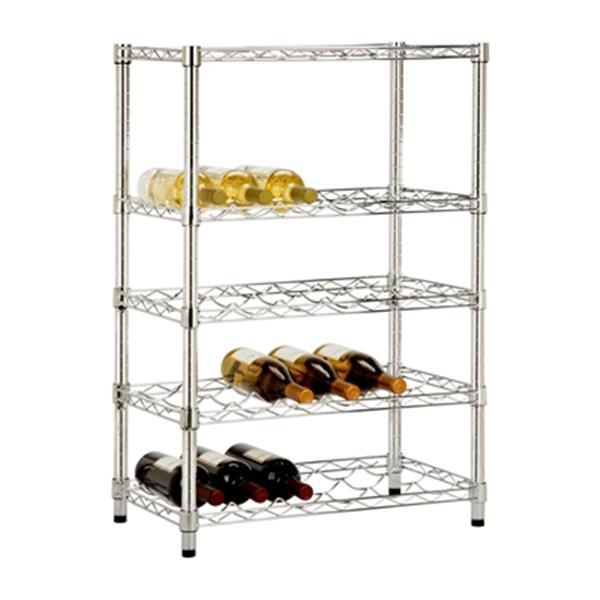 Honey Can Do SHF-03617 4-Tier Wine Rack,SHF-03617