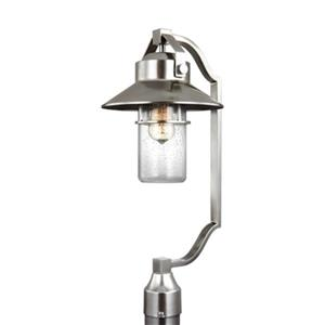 Feiss Boynton Painted Brushed Steel Outdoor Post Lantern