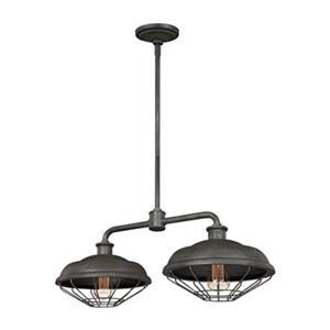 Feiss Lennex 2-Light Pendant Kitchen Island Light