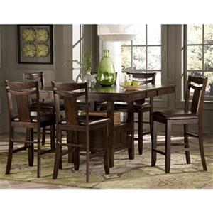 Homelegance Broome 7-Piece Counter Height Dining Set,2524-36