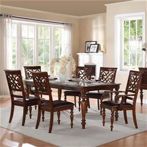 Homelegance Creswell Rich Cherry 7-Piece Dining Set