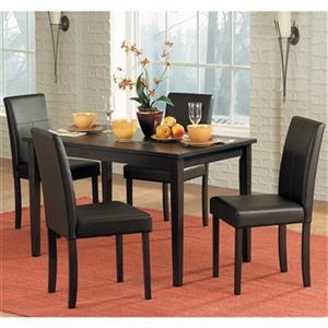 Homeglance Dover Brown 5-Piece Dining Set
