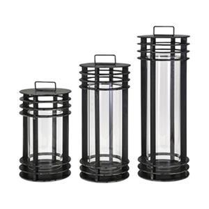 IMAX Worldwide Electra Metal Lanterns (Set of 3)