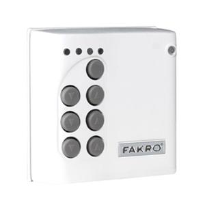 Fakro 3.15-in x 3.15-in ZXK10 Wall Switch Control For FVE Skylights