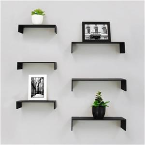 Nexxt Design FN1883 Extense Wall Shelves (6-pack),FN18837-4I
