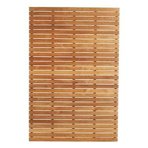 ARB Teak & Specialties 60-in x 40-in Teak Shower Base Bath Mat