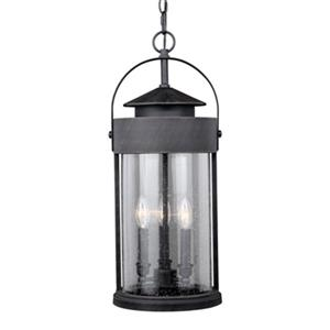 Cascadia Cumberland 3-Light Bronze Rustic Outdoor Pendant Light