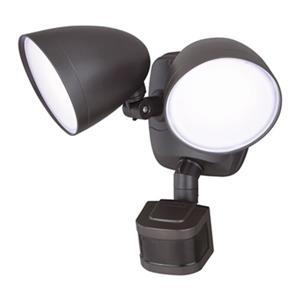 Cascadia Lighting Bronze Tau Dualux LED Security Light