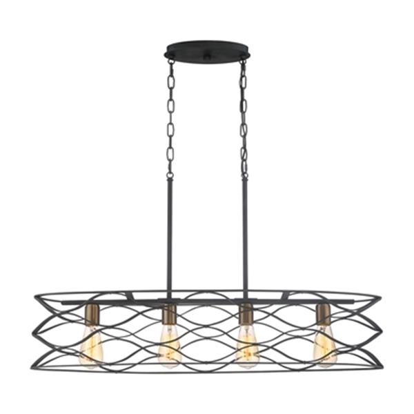 Quoizel Unity 4-Light Pendant Kitchen Island Light LWS3549H | RONA