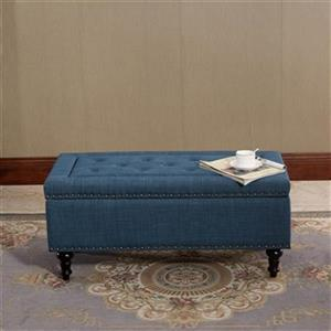 Warehouse of Tiffany OT-H13 Chinmar Tufted Rectangular Stora