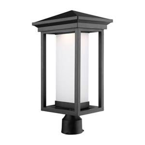 Artcraft Lighting Overbrook LED Black Post Mount Light