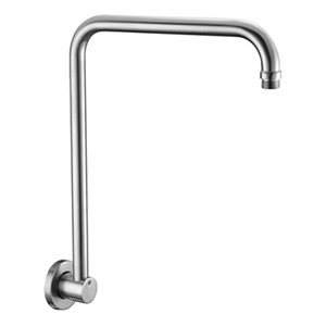 ALFI Brand 12-in Round Raised Wall-Mounted Shower Arm,AB12GR