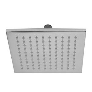 ALFI Brand 7.88-in Polished Chrome Square Multi Color LED Rain Shower Head