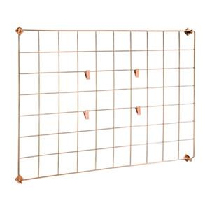 Honey Can Do 19.69-in x 27.56-in Copper Grid Wall