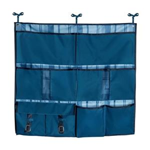 Honey Can Do Blue 2-in-1 Bed Organizer