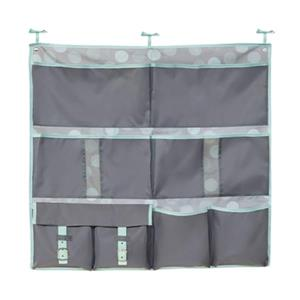 Honey Can Do Grey 2-in-1 Bed Organizer