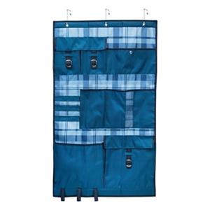Honey Can Do Over the Door Blue Pocket Organizer