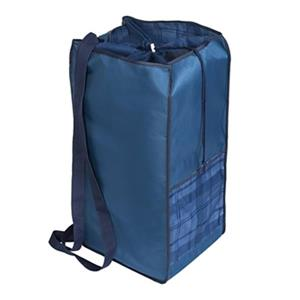 Honey Can Do Blue Polyester Laundry Tote