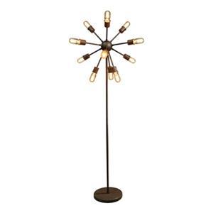Warehouse of Tiffany Edison 12-Light Floor Lamp