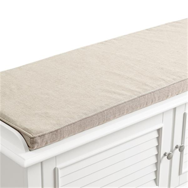 Crosley Furniture Palmetto Entryway Bench,CF6010-WH