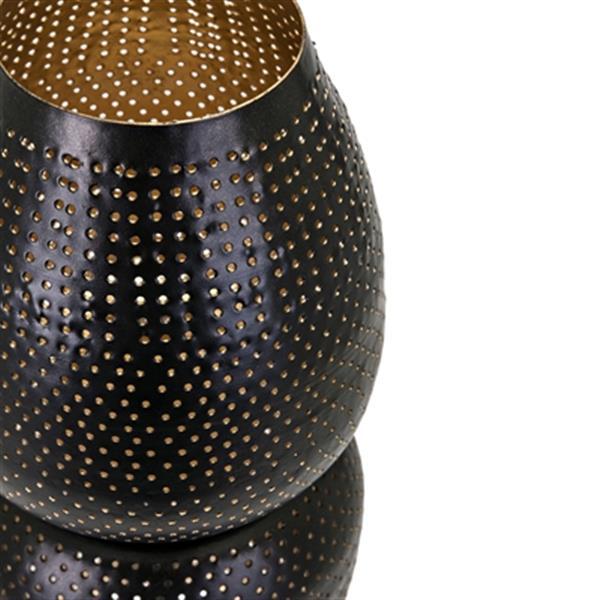 IMAX Worldwide Cador Pierced Lanterns (Set of 2)