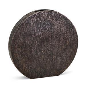 IMAX Worldwide Nalani 18.5-in Bronze Disc Vase