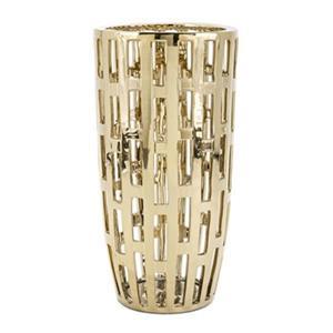IMAX Worldwide Ronnan 23-in Gold Vase