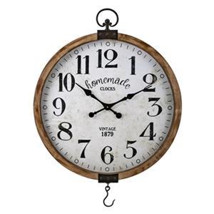IMAX Worldwide Johnson 40-in x 29-in Wall Clock