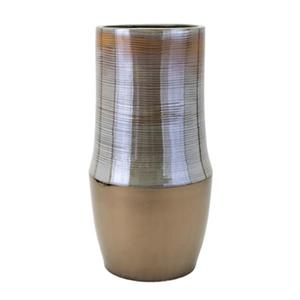 IMAX Worldwide Nabila 35-in Grey Vase