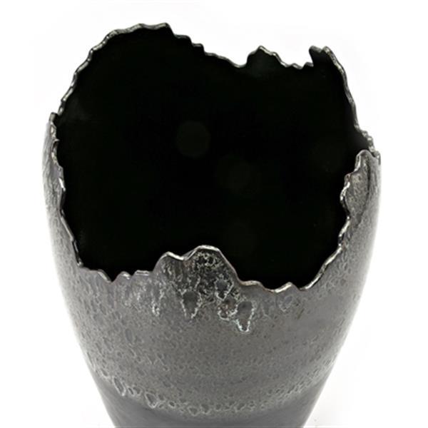 IMAX Worldwide Nachor 28-in Grey Oversized Vase