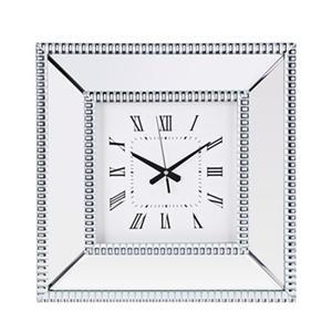 IMAX Worldwide Fiona Mirror 17.75-in Wall Clock